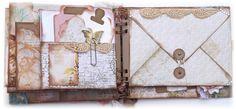 ~Designs by Ramona~: Mini Album Using the Envelope Board