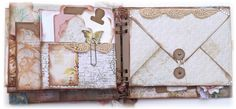 ~Designs by Ramona~: Mini Album Using the Envelope Board