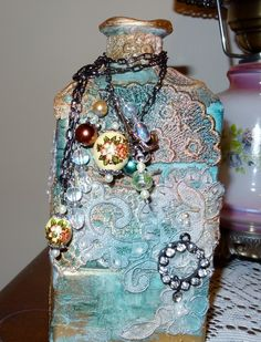Altered Bottle - Scrapbook.com