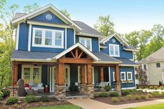Plan 500001VV: Craftsman Keeper with Beds (and Laundry) Upstairs..PERFECT IN EVERY WAY!