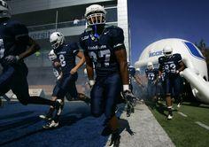 Utah State University Football by Jim Urquhart