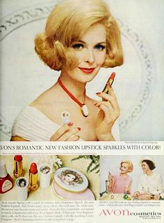 https://flic.kr/p/ipyufc | Avon Lipstick, April 1965 | Featured in The Ladies' Home Journal, April 1965