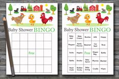 60 farm animals baby shower bingo,farm baby shower bingo,hen baby shower bingo,duck baby shower bingo cards,farm animals bingo cards,BG-188 Baby Shower Duck, Baby Shower Bingo, Baby Shower Printables, Blank Bingo Cards, Baby Bingo, Free Diapers, Star Baby Showers, Bottle Bag, Baby Rattle