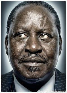 Portrait de Raila Odinga par Platon