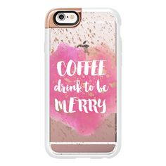 Coffee Drink to Be Merry - iPhone 6s Case,iPhone 6 Case,iPhone 6s Plus... (180…