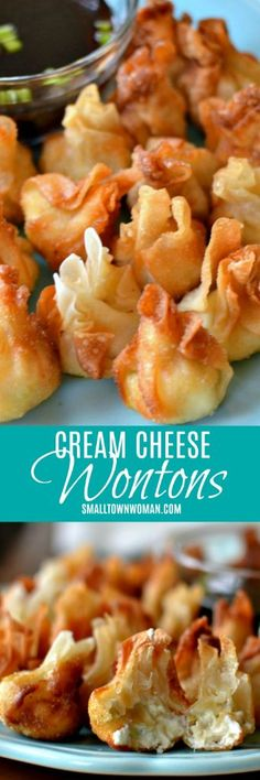 football food These bite size crispy Pepper Jack Chicken Cream Cheese Wontons are a fabulous party appetizer and are so simple that even your tween can help. Yummy Appetizers, Appetizers For Party, Appetizer Recipes, Snack Recipes, Cooking Recipes, Snacks, Wonton Appetizers, Dinner Recipes, Parties Food