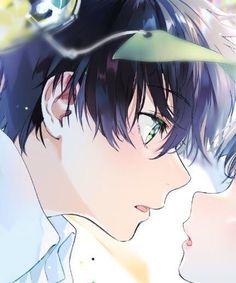 Funny Anime Couples, Anime Couples Drawings, Anime Chibi, Manga Anime, Anime Art, Manga Couple, Anime Love Couple, Tamako Love Story, Hyouka