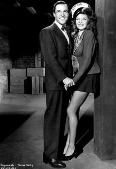 Gene Kelly & Rita Hayworth // Cover Girl (1944)