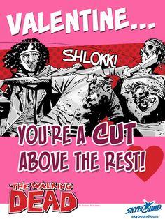 Walking Dead Valentine