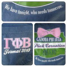 Gamma Phi t-shirt