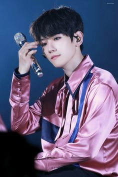 Baekhyun - 170527 Exoplanet #3 - The EXO'rDium [dot] Credit: Demon Angel.