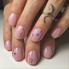 Nail art Christmas - the festive spirit on the nails. Over 70 creative ideas and tutorials - My Nails French Pedicure, Pedicure Nail Art, Toe Nail Art, Diy Nails, Gel Nail, Pinterest Nail Ideas, Floral Nail Art, Nude Nails, Matte Nails