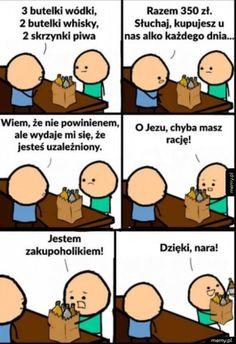 Wtf Funny, Hilarious, Polish Memes, Funny Mems, Quality Memes, Funny Stories, Best Memes, Haha, Geek Stuff