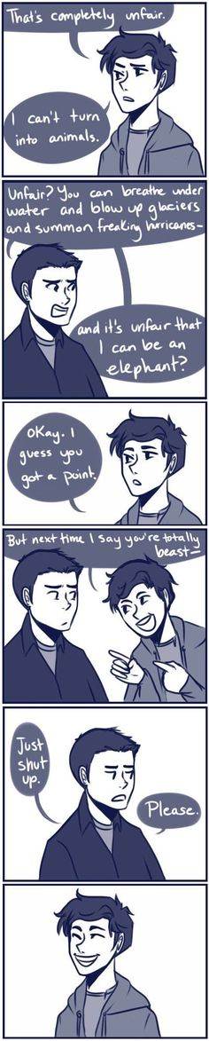 Percy Jackson - The Son of Neptune You think he really hasn't changed that much…
