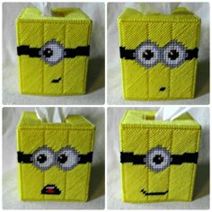 Despicable Me Minion tissue paper cover