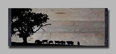 Reclaimed Barn Wood Wall Art by TKreclaimedART on Etsy, $150.00