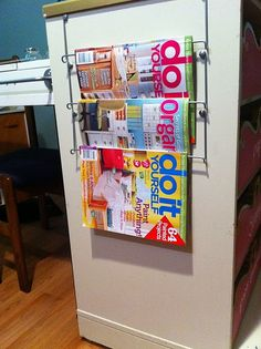 Bygel Rack used for magazine display