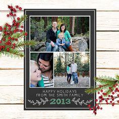 Custom Christmas Photo Card by UrbanArrowCo on Etsy, $15.00