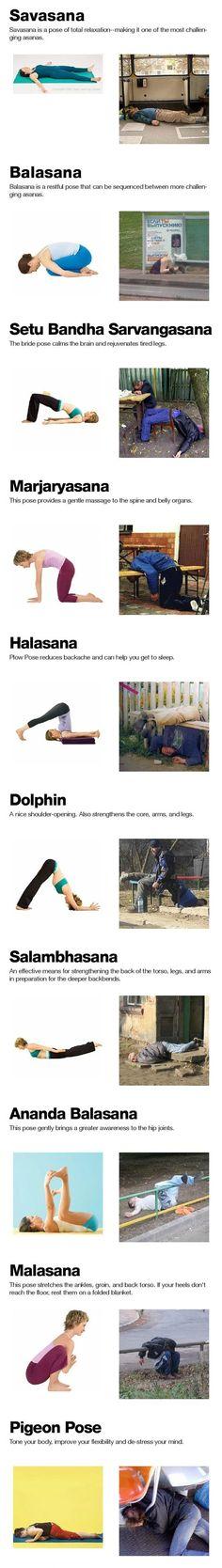 Drunken Yoga