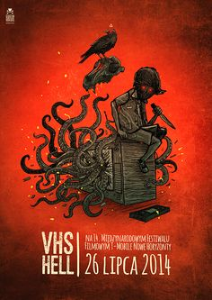 VHS HELL by Sebastian Skrobol, via Behance