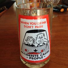 Vintage Novelty Pint Beer Glass Cup Stein  by blinkyoullmissit