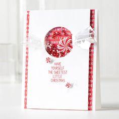 Sweet Holidays Card Kit Card by Shari Carroll.