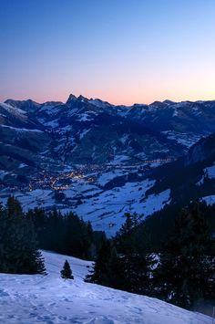Before Sunrise by Dylan Nicolier on 500px ...... View on Château-d'Oex, Switzerland.