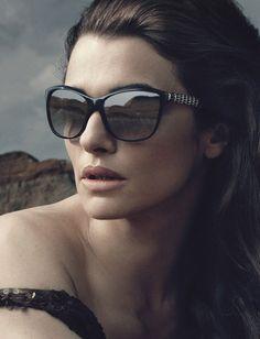 Rachel Weisz   Fashion Bvlgari Sunglasses Fall 2012 Ad Campaign