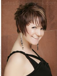 Spiky Short Haircut for Women