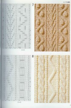 Knit patterns - 红头绳1 - Álbumes web de Picasa