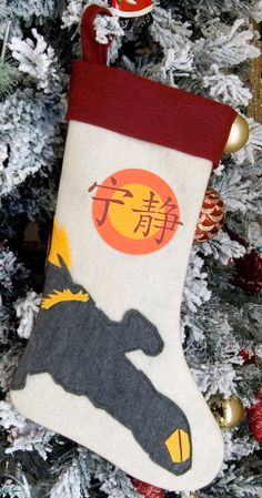 Firefly Serenity Themed Christmas Stocking by 6ftferrets on Etsy, $19.99
