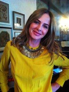 Trinny! Trinny Woodall, Body Shapes, Statement Jewelry, Personal Style, Fashion Inspiration, Celebrity Style, Fall Winter, Inspirational, Fashion Outfits