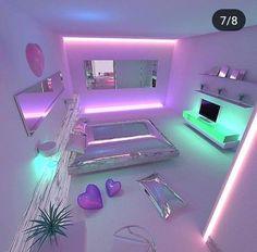 Bedroom Ideas For Teen Girls, Girl Bedroom Designs, Teen Girl Bedrooms, Bedroom Themes, Purple Teen Bedrooms, Trendy Bedroom, Unique Teen Bedrooms, Diy Room Decor For Teens, Beautiful Bedrooms