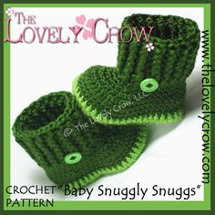 Booties Crochet Pattern Baby Booties for Baby Goshalosh Boots - 4 sizes - Newborn to 12 months. Crochet Baby Boots, Booties Crochet, Crochet Slippers, Love Crochet, Crochet For Kids, Single Crochet, Crochet Hooks, Ravelry, Baby Boy Booties