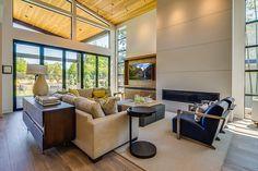 Living Room | 2015 Street of Dreams | 'Sandhill Crane' Built by Westlake Development - Luxury Custom Home Builders Portland, OR