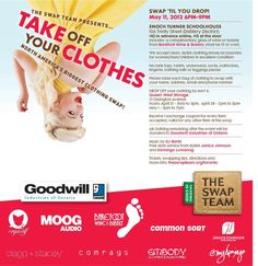 Take Off Your Clothes clothing swap event http://myafrofashion.com/take-off-your-clothes-clothing-swap-event.html