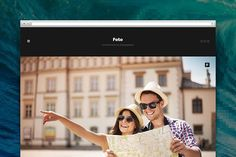 Foto tumblr theme by Pixel Revel on @creativemarket