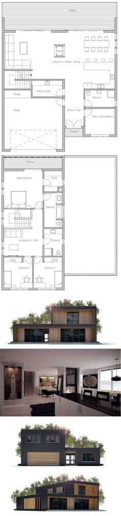 Plan maison neuve à construire - Maisons France Confort Lumina 106 G - plan maison france confort