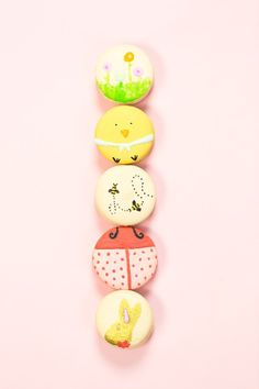 The cutest DIY Easter macarons inspired by Lindt chocolates for Spring ...