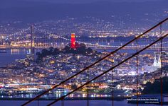 Red & Gold Coit Tower San Francisco | Flickr - Photo Sharing!