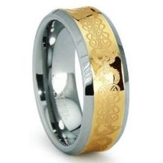 Celtic Wedding Bands, Gaelic sets, men's and woman's wedding rings, jewelry. Scottish or Irish unique rings in gold, silver and platinum. If anyone...
