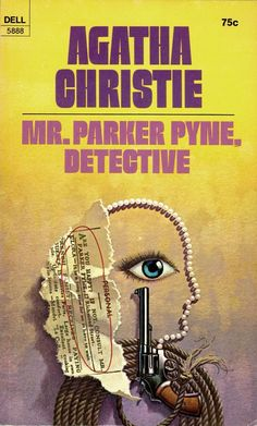 ABOVE: Agatha Christie, Mr. Parker Pyne, Detective (NY: Dell, 1971), with cover art by William Teason.