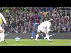Ronaldinho Xavi Iniesta hat trick Messi vs Real Madrid