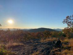 Watching the sun set at Wildcat Mountain near the #ApplachianTrail.