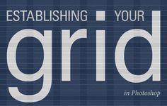 Establishing Your Grid in Photoshop