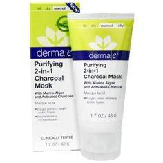 Очищающая маска-скраб 2 в 1 от Derma E - Радость души и тела