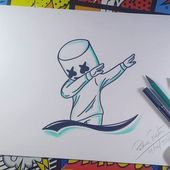 DJ Mashmello step by step Video de ho … DJ Mashmello step by step Today's video for the Canal ARTE E CIA BRASIL Look at it ! (That , , , The post DJ Mashmello step by step Video de ho …… appeared first on Best Pins for Yours - Drawing Ideas Easy Pencil Drawings, Art Drawings Sketches Simple, Love Drawings, Cartoon Drawings, Simple Drawing Designs, Disney Drawings, Cartoon Art, Cool Simple Drawings, Cartoon Brain