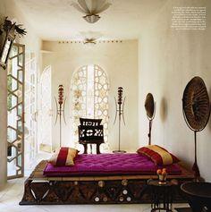 marrakech style in bedroom