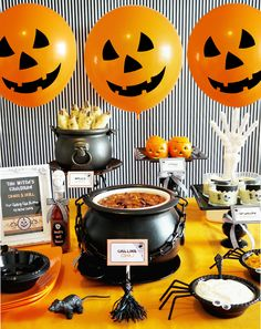 Halloween buffet designs | ... creative halloween chili buffet and there are so many great ideas this