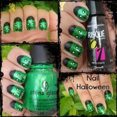 Nail Halloween http://wp.me/p1x69g-1gx